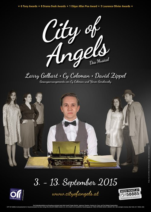 CITY OF ANGELS - Das Musical